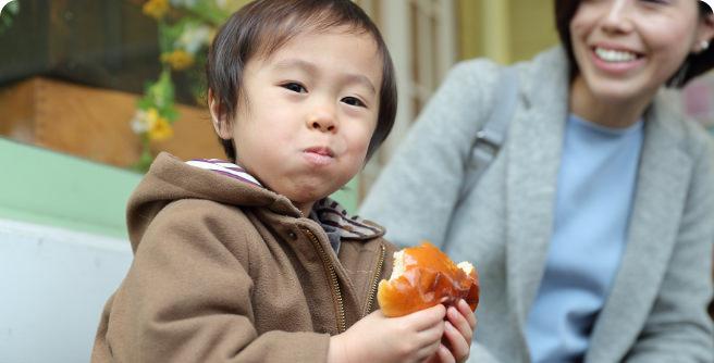 毎日食べたいやさしいパンを
