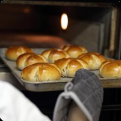 焼きたてパンが当たり前